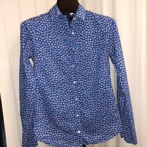 J. Crew Tops - Liberty for J.Crew button up